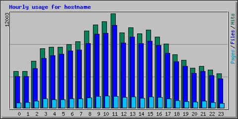 Hourly usage for December 20**